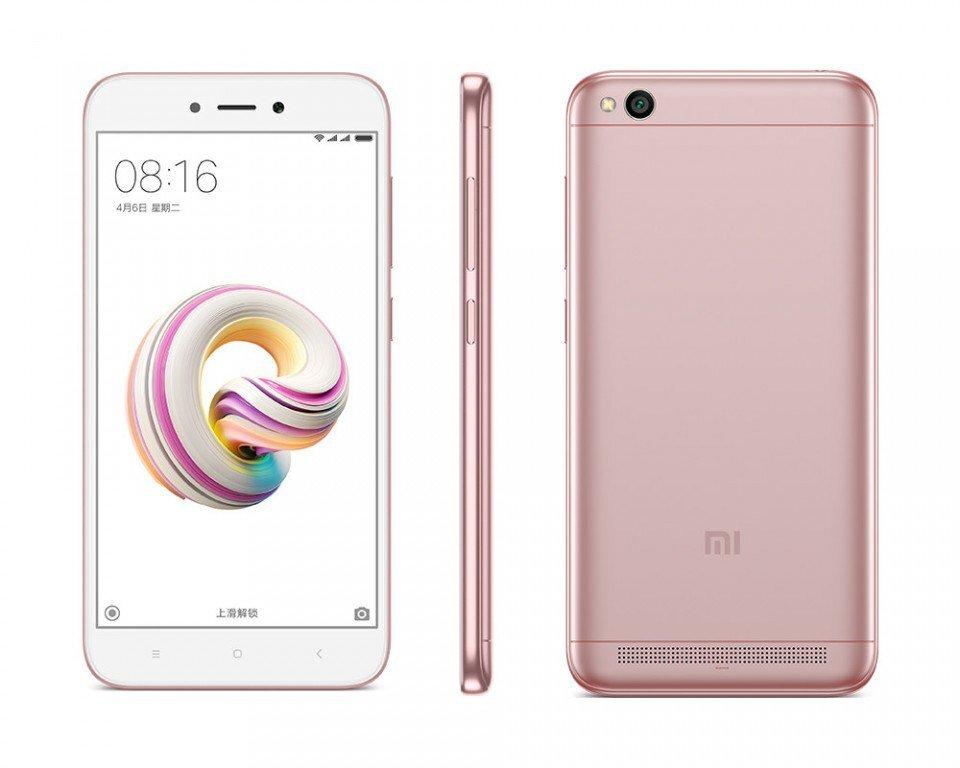 Điện thoại Xiaomi Redmi 5A - 16GB, 2 sim