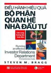 Điều hành hiệu quả bộ phận quan hệ nhà đầu tư