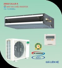 Điều hòa General 12000 BTU 2 chiều Inverter ARGG12LLLB-A gas R-410A