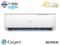 Điều hòa - Máy lạnh Casper GH-24TL32 - 2 Chiều, 24000BTU, Inverter