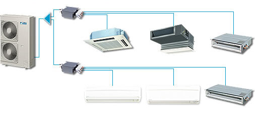 Điều hòa - Máy lạnh Daikin FDXS50CVMA - 2 chiều, 18000BTU, inverter