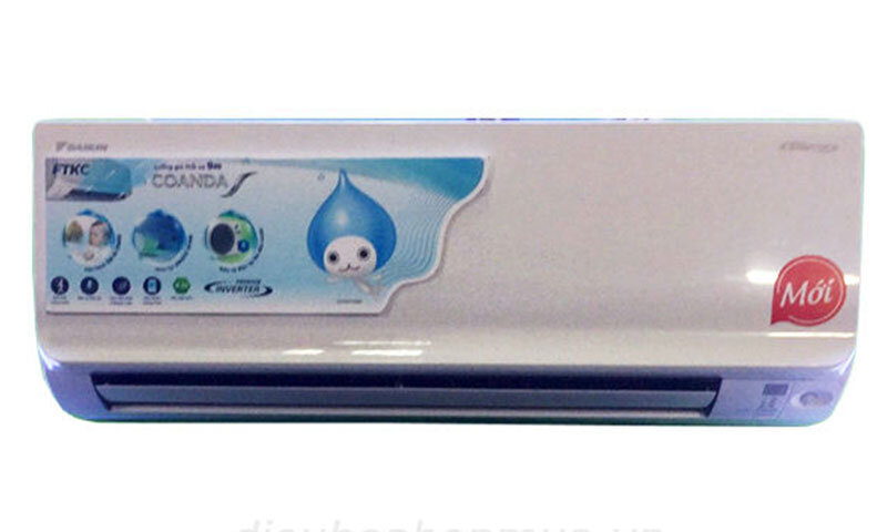 Điều hòa - Máy lạnh Daikin FTKC60TVMV - 1 chiều, 2.5 HP, Inverter