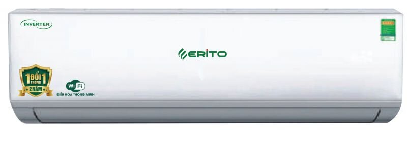 Điều hòa - Máy lạnh Erito ETI-N20HS1/ETO-N20HS1 - wifi, 2 chiều, 18000Btu