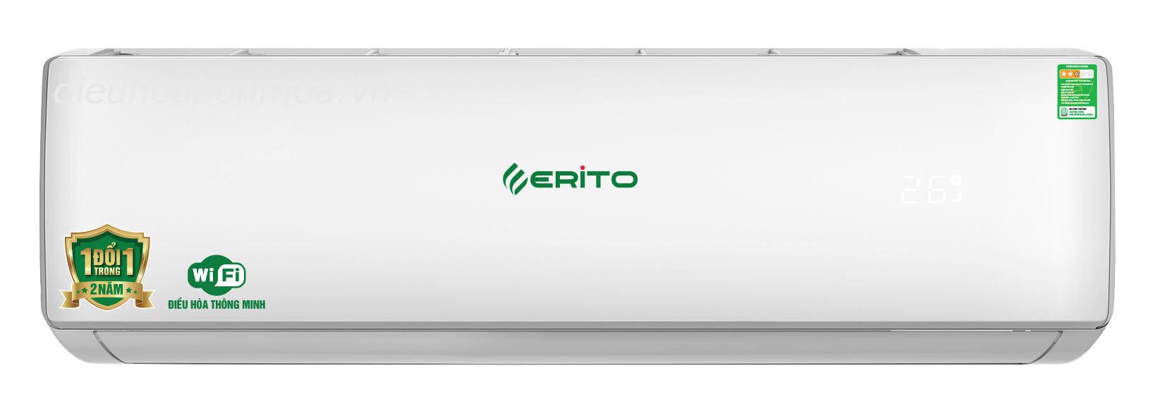 Điều hòa - Máy lạnh Erito ETI-N15CS1 - 1 chiều, 12000Btu