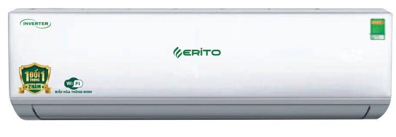 Điều hòa - Máy lạnh Erito ETI-V15HS1/ETO-V15HS1 - inverter, wifi, 2 chiều, 12000Btu