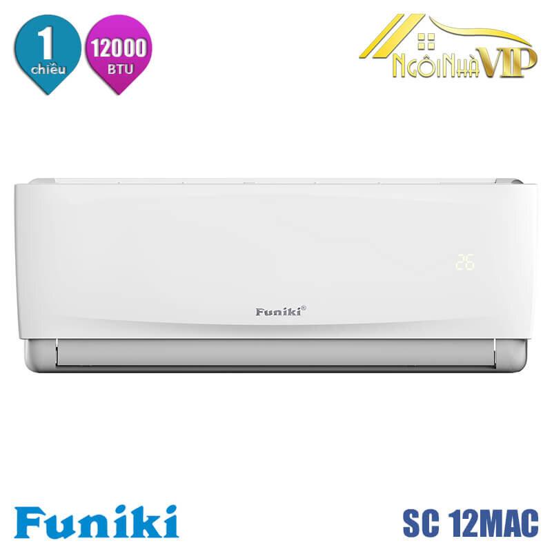 Điều hòa - Máy lạnh Funiki SC12MAC - 1 chiều, 12000BTU