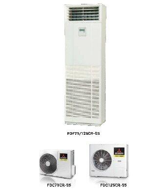 Điều hòa - Máy lạnh Mitsubishi FDF125CR-S5 - Tủ đứng, 1 chiều,  45000 BTU