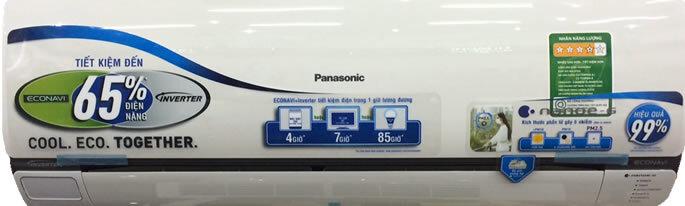 Điều hòa - Máy lạnh Panasonic CU/CS-TS24QKH-8 - 1 chiều, 24000 BTU, Inverter