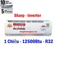 Điều hòa - Máy lạnh Sharp AH-XP13UHW - Treo tường, 1 chiều, 12500BTU