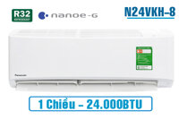 Điều hòa Panasonic 24000 BTU 1 chiều N24VKH-8 gas R-32