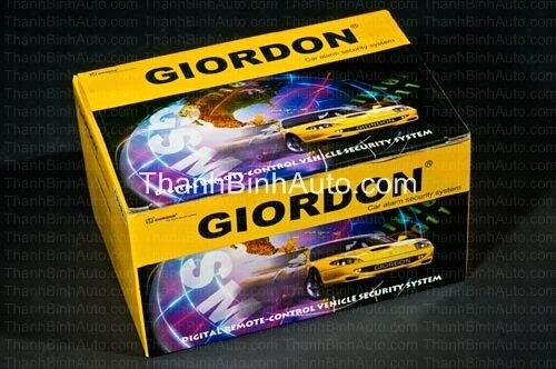 Điều khiển đóng mở cửa Giordon