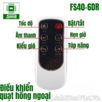 Điều khiển quạt hồng ngoại FS40-6DR
