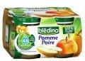 Dinh dưỡng đóng lọ Bledina táo lê 4m+