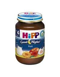 Dinh dưỡng đóng lọ HiPP Chúc ngủ ngon hoa quả (190g)