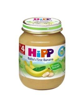 Dinh dưỡng đóng lọ HiPP chuối ăn dặm khởi đầu 125g