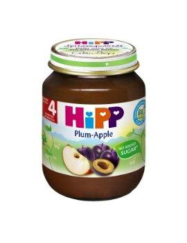 Dinh dưỡng đóng lọ HiPP mận tây, táo tây 125g