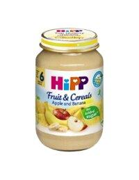 Dinh dưỡng đóng lọ HiPP ngũ cốc táo chuối (190g)