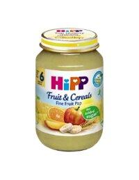 Dinh dưỡng đóng lọ HiPP Ngũ cốc chuối, cam, táo, xoài 125g