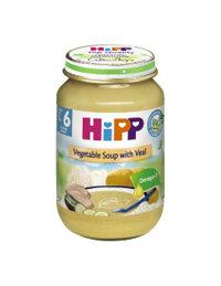 Dinh dưỡng đóng lọ HiPP súp thịt bê, rau tổng hợp 190g