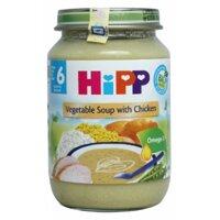 Dinh dưỡng đóng lọ Hipp súp thịt gà, rau tổng hợp - hộp 190g