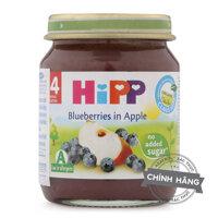Dinh dưỡng đóng lọ Hipp vị dâu tím, táo tây 125g