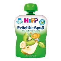 Dinh dưỡng trái cây nghiền kiwi, lê, chuối HiPP 90g
