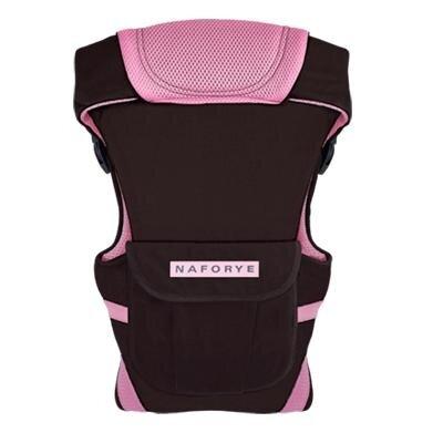 Địu em bé Naforye Hug Helper N99499 - màu nâu/hồng