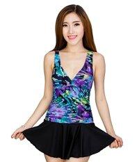 Đồ bơi nữ Lan Hạnh phối váy 90020