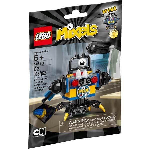 Đồ chơi biên tập viên Myke Lego Mixels - 41580