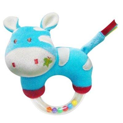 Đồ chơi bông mềm tay cầm lục lạc hình ngựa vằn Winnie TO25V28
