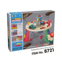Đồ chơi BOWA 8721 - Kỹ sư 35 chi tiết, Không dùng pin