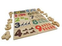 Đồ chơi cho bé bộ chữ thú rừng QTY940