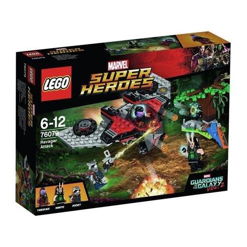 Đồ chơi cuộc tấn công của Ravager Lego Super Heroes 76079 (197 chi tiết)