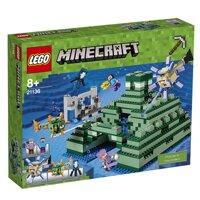 Đồ chơi đài tưởng niệm đại dương Lego Minecraft 21136 (1122 chi tiết)