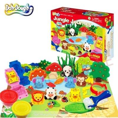 Đồ chơi đất nặn Doh Dough khám phá rừng xanh 50166