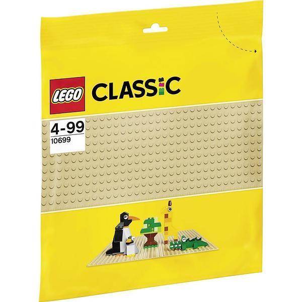 Đồ chơi đế Lắp Ráp Màu Vàng Nhạt LEGO 10699
