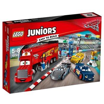 Đồ chơi đội đua của McQueen Lego Juniors 10745 (266 chi tiết)