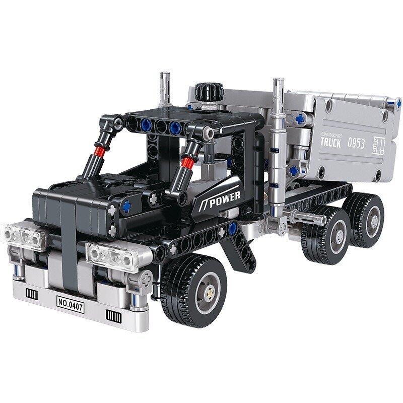 Đồ chơi ghép hình – Xe tải công trường No.QL0407