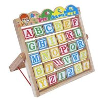 Đồ chơi gỗ Colligo bảng chữ cái chữ cái Alphabet 50129