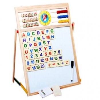 Đồ chơi gỗ giáo dục dạng bảng thông minh Winwintoys WS0008