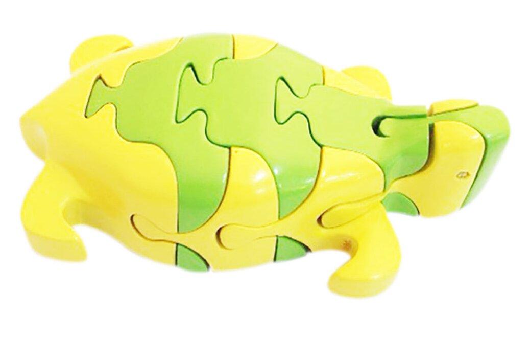 Đồ Chơi Gỗ Lắp Ráp Mô Hình Puzzle 3D Tottosi Hình Rùa