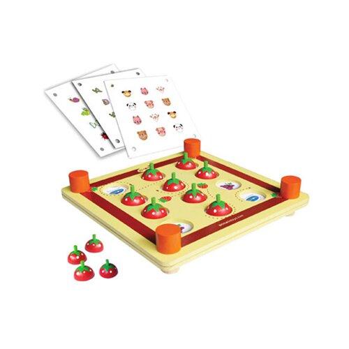 Đồ chơi gỗ tìm cặp trái dâu bằng gỗ Winwintoys 67222