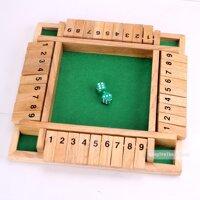 Đồ chơi gỗ Trò chơi đấu trường Four