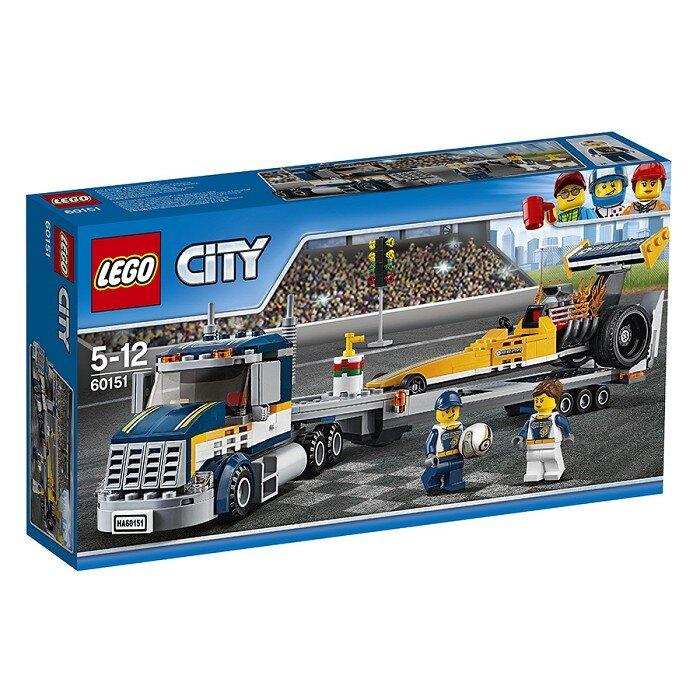 Đồ chơi lắp ghép xe vận chuyển cỡ lớn lego 60151 (333 Miếng)