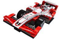 Đồ chơi lắp ráp Ausini 26409 xe đua F1