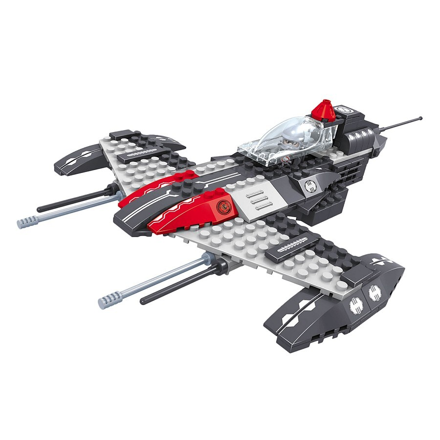 Đồ chơi lắp ráp Ausini – Khám phá vũ trụ – Phi thuyền không gian 25469 (129 mảnh ghép)