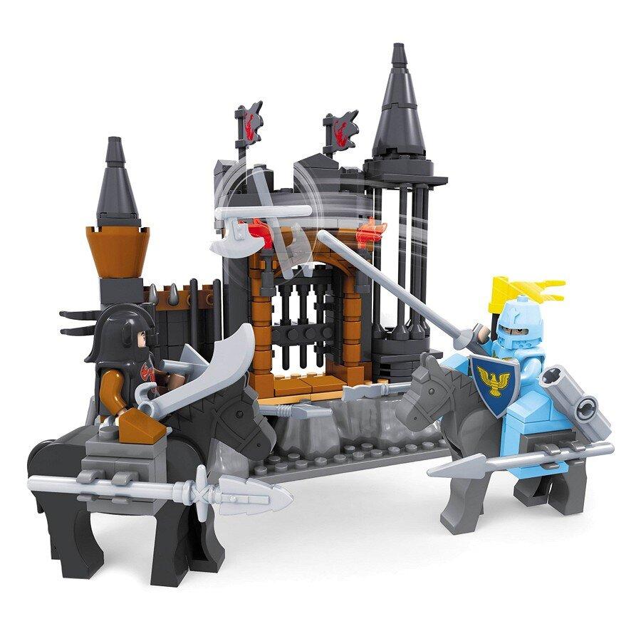 Đồ chơi lắp ráp Ausini - lâu đài hiệp sĩ - trường đấu hiệp sĩ 27501 (220 mảnh ghép)