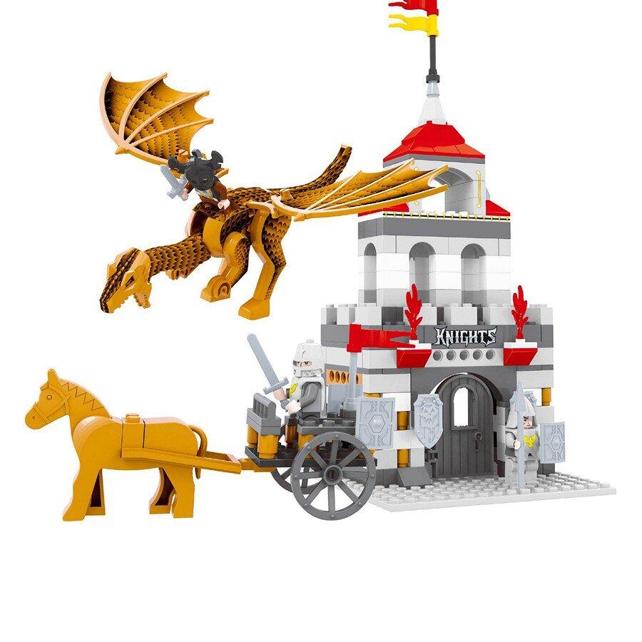 Đồ chơi lắp ráp Ausini - lâu đài hiệp sĩ - lâu đài 27605 (260 mảnh ghép)