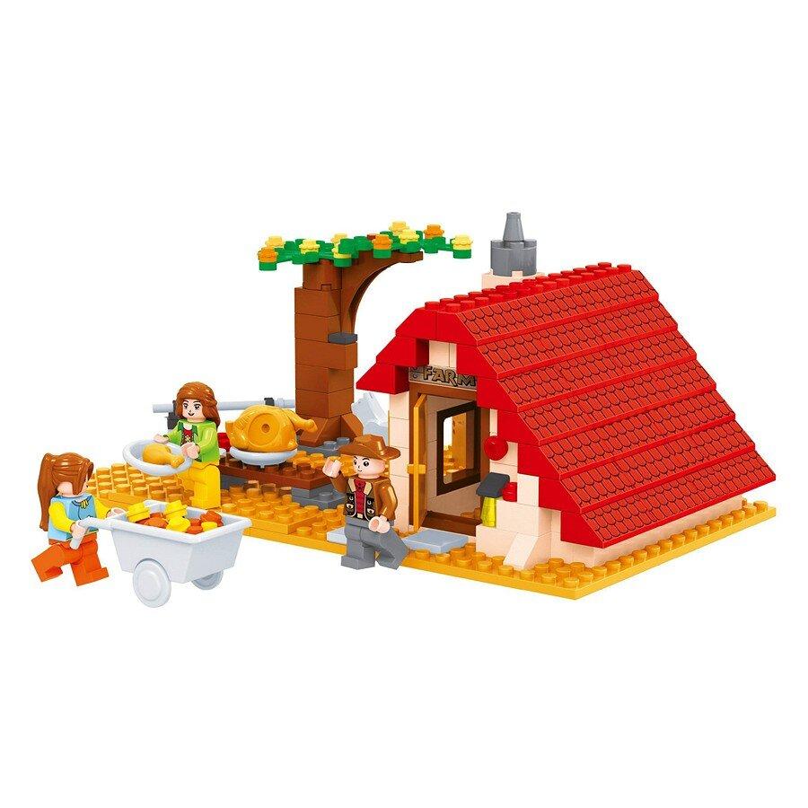 Đồ chơi lắp ráp Ausini - nông trại vui vẻ - nhà trang trại 28507 (209 mảnh ghép)