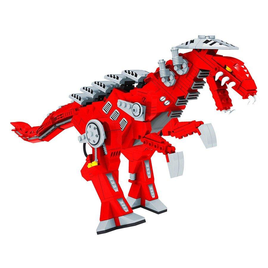 Đồ chơi lắp ráp Ausini - robot anh hùng - khủng long giáp sắt 25860 (492 mảnh ghép)